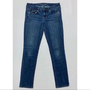 AEO Super Stretch Skinny Jeans Blue 10